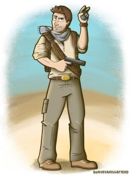 Nathan Drake, Uncharted. by SuaveVanillaFiend