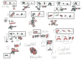 Lego Omega instructions 2-4 by RedBlueIsCool