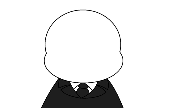 Draw On Slenderman's Face by Jamiecheater