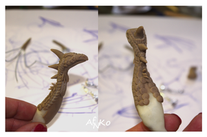 WIP Dragon by ArtefiorNantiako