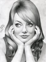 Emma Stone by zgirl3210