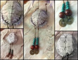 Turtle shell necklace 1 by un-do