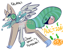 Auction - New Species (closed) by homoside