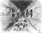 Star Wars Space Art I by philippeL