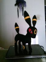 Umbreon needle felt 1 by CreationsbyFrost