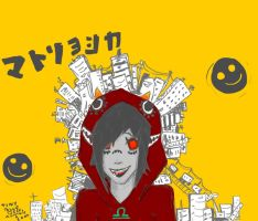Matryoshka Homestuck- Terezi by tsunadeboo22