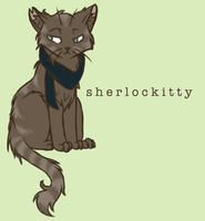 Sherlockitty by tea-biscuit