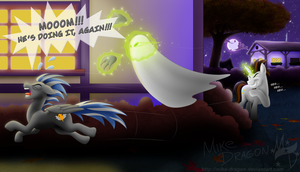 Too Spooky For You [Text Version] by Mike-Dragon
