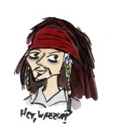 jack sparrow cartoon by takuyaleon