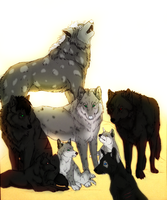 Feral Heart: Moonlight Pack by TheSodaSmuggler