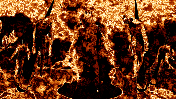 Messing with a fire effect plugin i installed. by inkoalawetrust