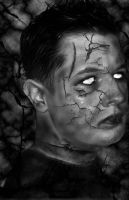 Zombie me BW ver by CriChTon