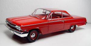 Maisto 1962 Chevrolet Bel Air in Red by Firehawk73-2012