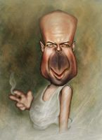 Brucey Caricature by jonesmac2006