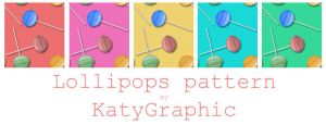 Lollipops pattern by Katydeviantart