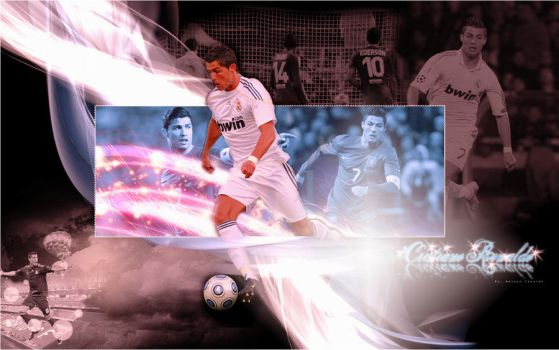 Cristiano Ronaldo wallpaper1 by onlmileyrcyrus