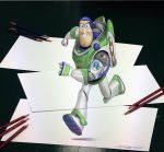 Buzz  Anamorphic Pencil Drawing by AtomiccircuS