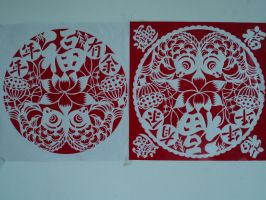 paper-cut by luwe2009