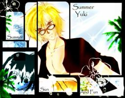 Summer Yuki by WeirdCircus9 by gravitation-fanclub
