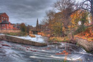 Morpeth Bridge by dylanridley