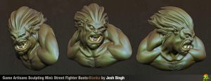 Blanka Bust by DevindraLeonis