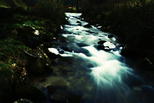 Icy River by Aquilae