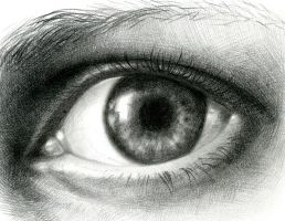 eye in pencil by amyjiao