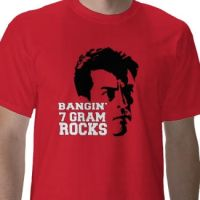 "Charlie Sheen ""7 Gram Rocks"" by squewheet"