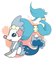 Chibi Primarina by SketchBookOaP