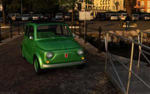 classic fiat 500 by 3DEricDesign