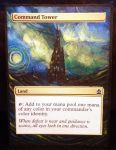 Magic the Gathering Alteration: Command Tower by Ondal-the-Fool