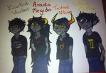 Beta trolls ( low bloods ) by meganthebat22