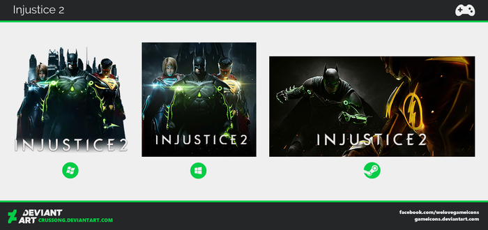 Injustice 2 - Icon by Crussong