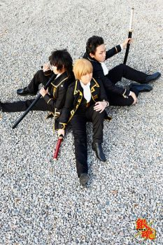 Gintama: Shinsengumi by cloverchakra