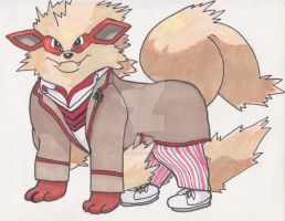 Doctor Arcanine by AlPendragon