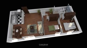 3D Floorplan by FEG