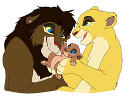 lion family adopts CLOSED by vitani211