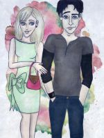 The Dragomir Princess and that Ozera kid by TheSearchingEyes