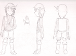 Young Mage - Mithos Yggdrasill concept art by IndieBlueshipper