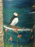 Puffin float by piglet365