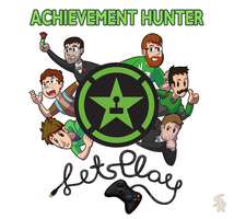 Achievement Hunter Animated Test by Sound-Resonance