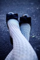 Bows and houndstooth by The-optimist