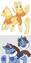 Avatar Ponies by Jaylina