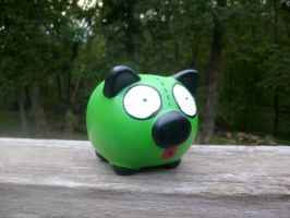 GIR Piggy Bank by ZombieBunnySlaya