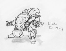Lincoln Toe Mech by clearwater-art