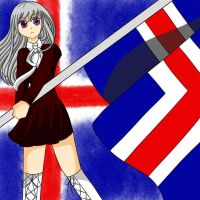 Waving Flag World Tribute - FemIceland by midori555