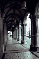 Vienna's corridors by black-absinth