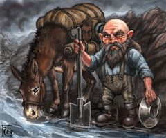 Prospector for Talisman by feliciacano