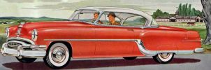 age of chrome and fins : 1953-54Pontiac by Peterhoff3
