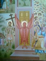 Wall painting in church 4 by HippieCase